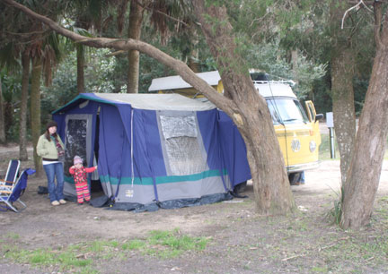 1964 with attached tent adaption